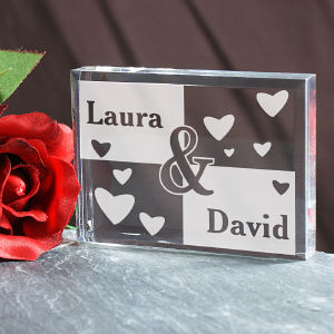 Engraved Couples Keepsake