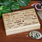 Engraved Why I Love You Valet Box 721625