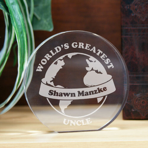 Engraved World's Greatest Keepsake 736362R