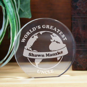 Engraved World's Greatest Keepsake