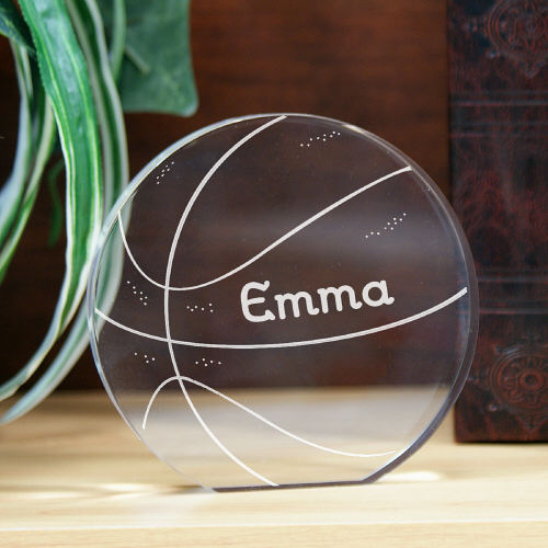 Engraved Basketball Keepsake 737272R