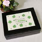 Lucky Enough Irish Keepsake Box