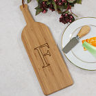 Monogrammed Wine Bottle Cutting Board L608628