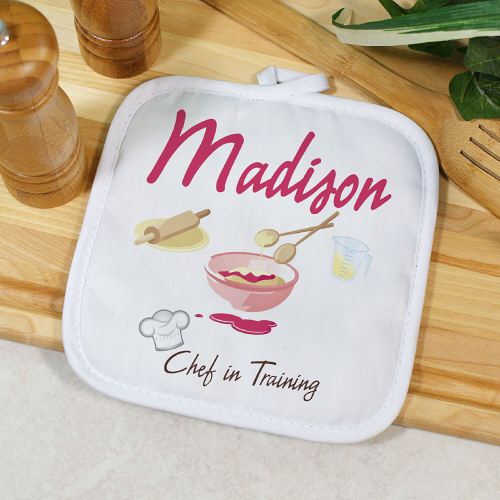 Personalized Chef In Training Pot Holder U353542