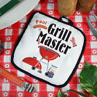 Personalized Grill Master Hot Pad
