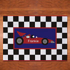 Personalized Race Car Placemat
