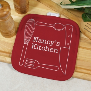 Personalized Pot Holder | Kitchen Gifts With Name