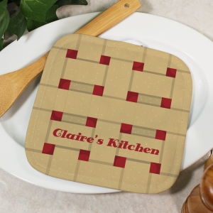 Personalized Cherry Pie Pot Holder