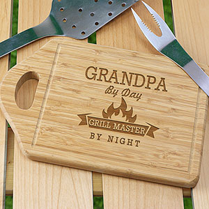 Engraved Grill Cutting Board