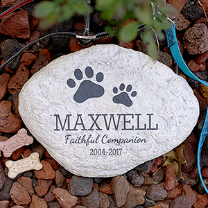 Personalized Pet Memorial Garden Stone L1125414
