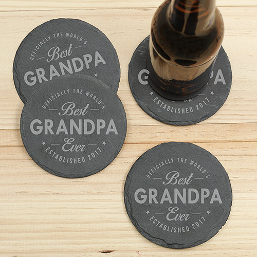 Personalized Best Ever Coasters | Personalized Barware