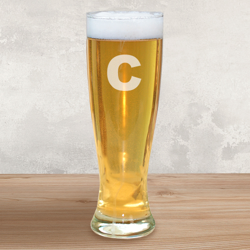 Engraved Pilsner Glass L312841