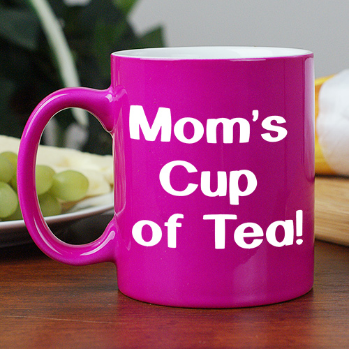 Engraved Any Message Two-Tone Mug | Happy Mother's Day Mug