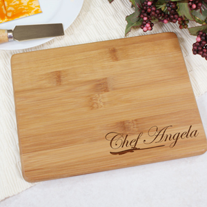 Engraved Chef's Board | Engraved Chef's Cutting Board