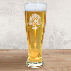 Engraved Tavern Pilsner Glass L626841