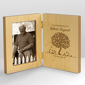 In Loving Memory Personalized Wood Frame