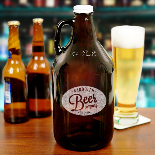 Engraved Beer Growler L768979