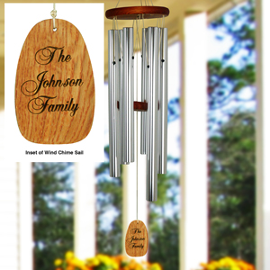 Personalized Family Wind chime L9964140