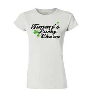 Lucky Charm Personalized Womens T-Shirt
