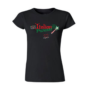 Italian Princess Personalized Womens T-Shirt