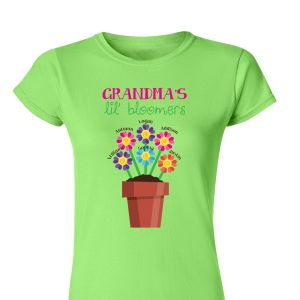 Personalized Lil' Bloomers Women's T-shirt