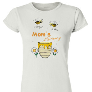 Little Honeys Personalized Womens T-Shirt