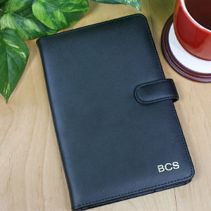 Personalized Leather Kindle Fire Case