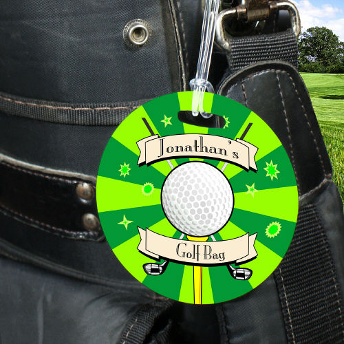 Custom Printed Golf Bag Tags