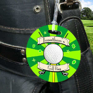 Personalized Golf Bag Tag