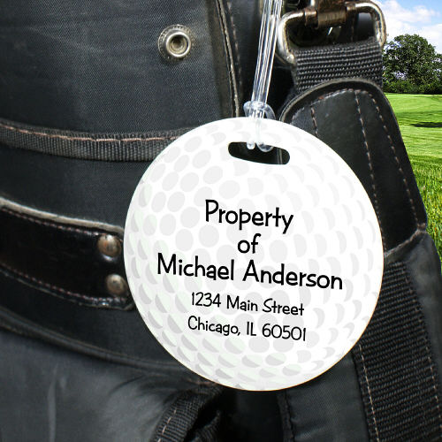 Custom Printed Golf Tag
