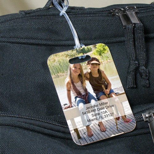 Picture Perfect Personalized Travel Luggage Tag 4135404