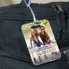 Picture Perfect Personalized Travel Luggage Tag