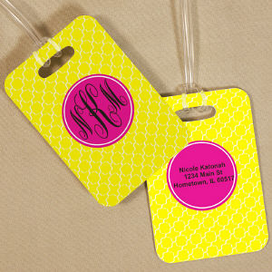 Monogram Madness Bag Tag
