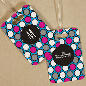 Personalized Monogram Bag Tag