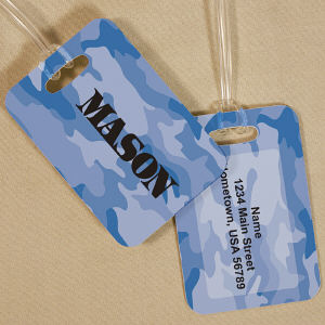 Personalized Camo Bag Tag 4167474