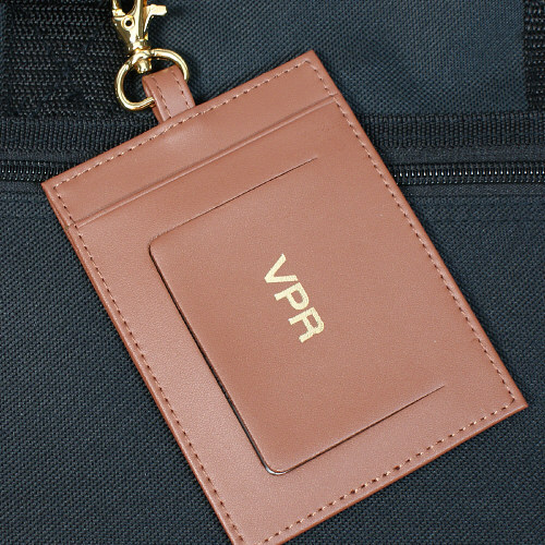 Executive Personalized Leather Luggage Tag