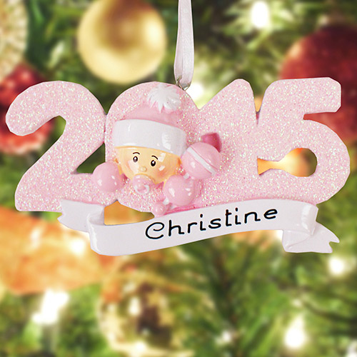 2015 Baby Girl Ornament