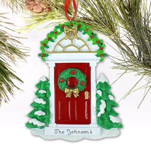 Red Door Ornament M989444