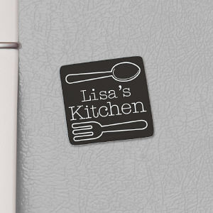 Personalized Utensils Magnet