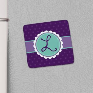Monogram Kitchen Magnet