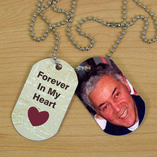 Personalized Memorial Photo Dog Tags | In Memory Of Gifts