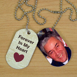 Personalized Memorial Photo Dog Tags 334932