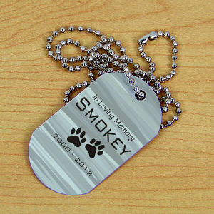 Personalized Pet Memorial Dog Tag 355371