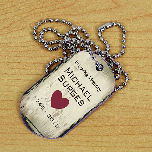 Personalized Memorial Dog Tag 368241