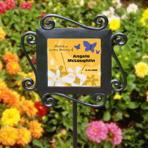 Personalized In Loving Memory Garden Stake 63159004