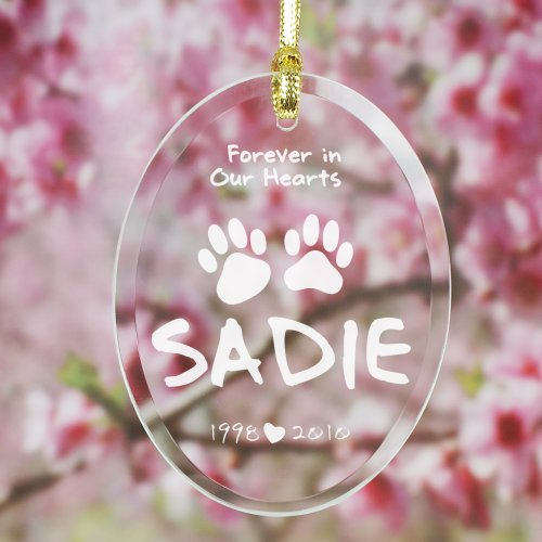 Engraved Pet Memorial Suncatcher 824794SC