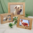 Engraved Til' the End Pet Memorial Wood Picture Frame