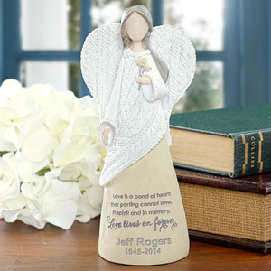 Engraved Memorial Angel