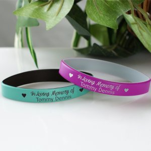 In Memory Of Wristband | Memorial Gifts