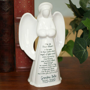 Personalized Ceramic Memorial Angel